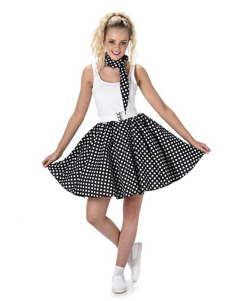 Costume anni 50 a pois donna Costumi adultie vestiti di ...