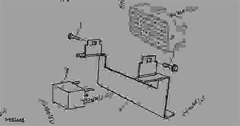 Deere 5203 Fuse Box Diagram by Bracket Fuse Box Xxxxxx Tractor Deere 5103