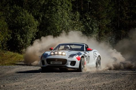 Jaguar Goes Rally With F-type Convertible