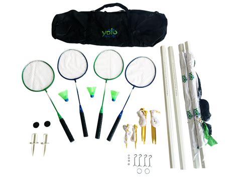 foto de Yolo Sports Badminton Set Walmart com