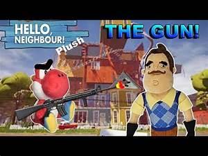 Hello Neighbor Plush Episode 3: The Gun! - YouTube