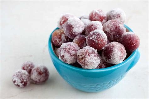 Frozen Sweet And Sour Grapes Recipe Frozen Dessert