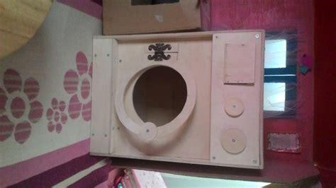 ana white toy washing machin  detergent drawer diy