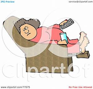 Lazy Woman Clipart - Clipart Kid