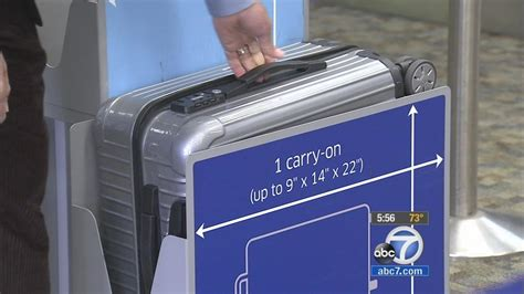 carry  luggage sizes confuse travelers abccom