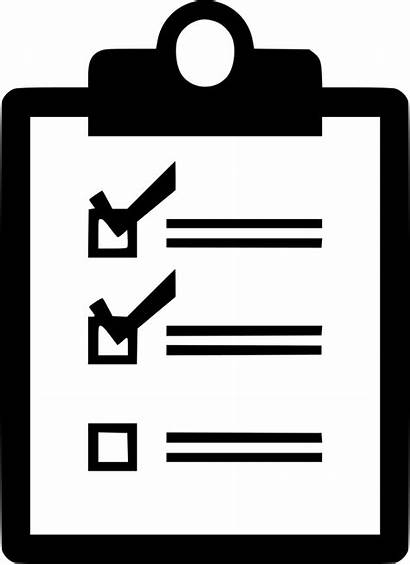 Checklist Icon Check Clipart Transparent Clipboard Symbol