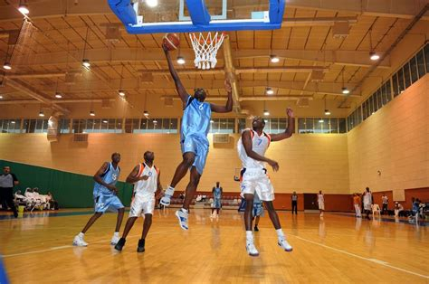dvids news troops compete  qatar military basketball