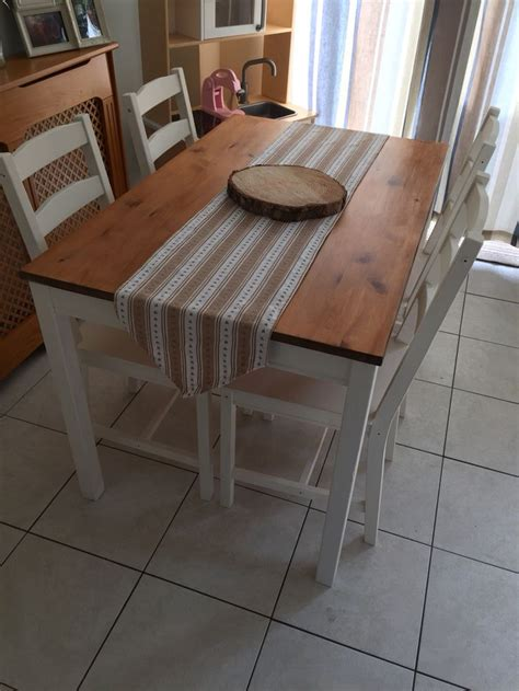ikea kitchen sets furniture ikea jokkmokk dining table and chairs painted in