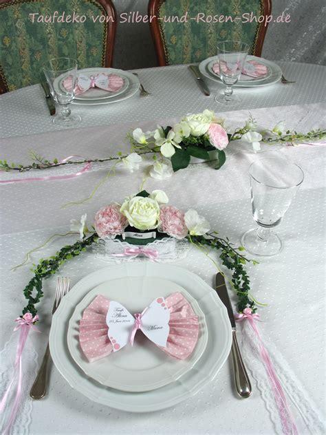 neues im silber und rosen shop baby tischdeko tuerkis blau oder rosa
