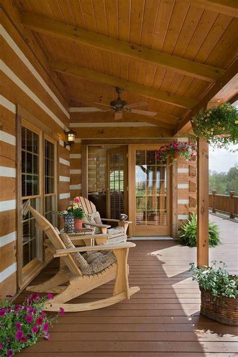 porches de madera  jardines cubiertos ideas de diseno