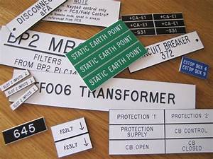 electrical labels and signs total engraving With engraved electrical labels