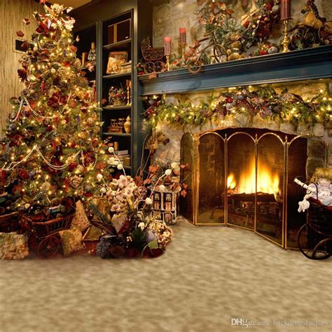 Family Pictures With Backdrop by 2019 Indoor Fireplace Photography Backdrops Tree