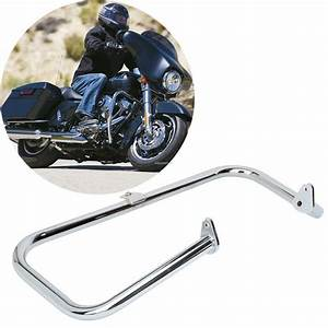 Chrome 1 1  4 U0026quot  Engine Guard Crash Bar For Harley Touring
