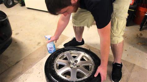 find  leak   tire youtube