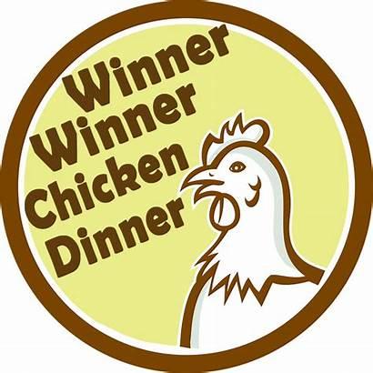 Winner Chicken Dinner Clipart Transparent Pubg Discord