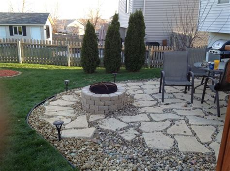 patio pea gravel patio ideas home interior design