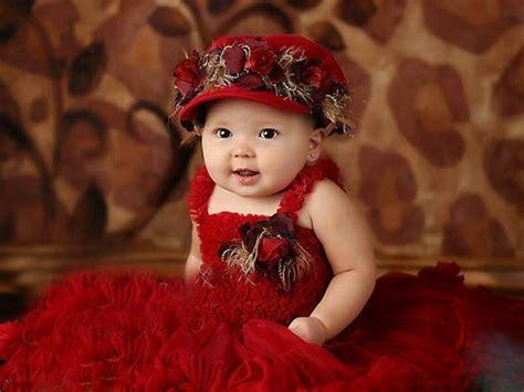 cute babies  red dress deep hd wallpapers   hd