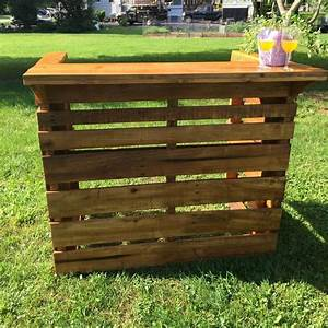 Fantastic DIY Wooden Pallet Bar Ideas Pallets Designs