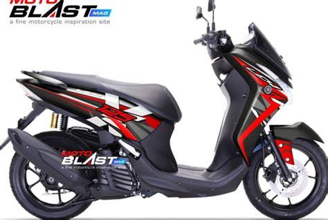 Tema Otomotif Modip Keren by Pilihan Modif Warna Dan Striping Yamaha 125 Keren