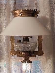 antique kerosene ls ls on ls cranberry glass and