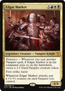 edgar markov foil price magic the gathering mtg on