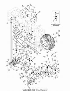 Mtd 13at605h718  2006  Parts Diagram For Drive