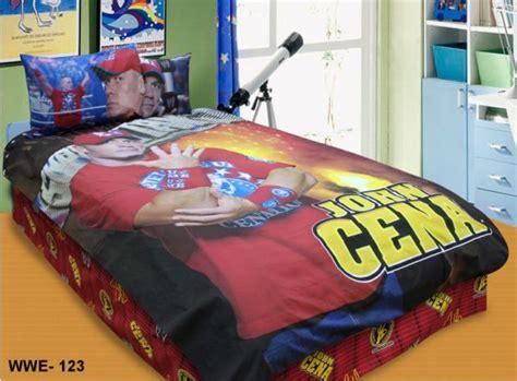 flora wwe john cena 123 bedding set with free pillow