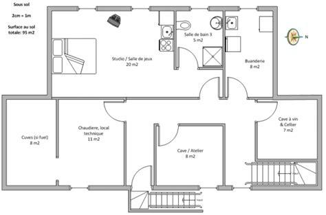 plan maison etage 100m2