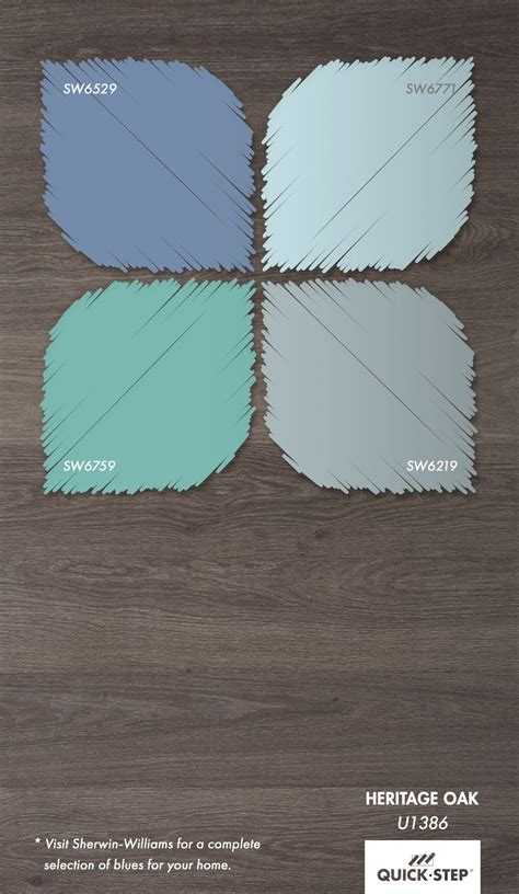 the latest color trend gray floors with blue walls get