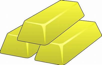 Gold Clipart Bars Bar Money Golden Clip