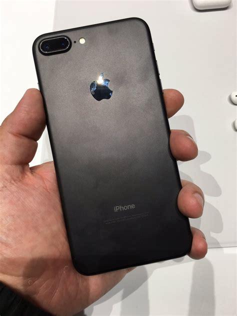 iphone 7 mat siyah plus