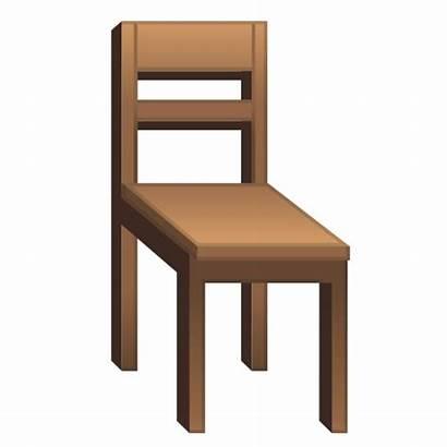 Emoji Chair Clipart Silla Kursi Google Stuhl