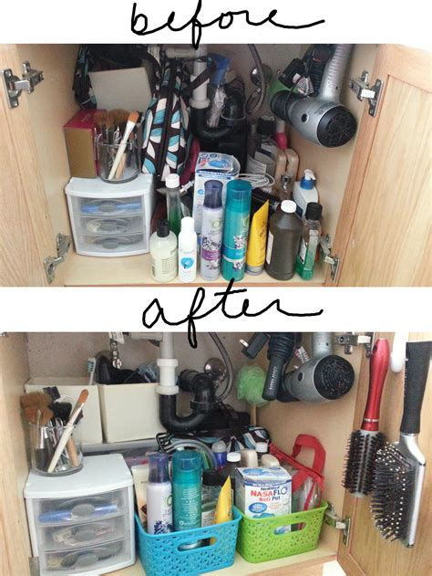 Organize The Bathroom Sink by Mission Possible Organizing The Kitchen Sink