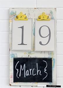 Kalender Selber Basteln Ideen : kalender selbst gestalten 12 n tzliche bastelideen f r wand und tisch ~ Orissabook.com Haus und Dekorationen