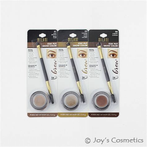 milani stay put brow color eyebrow mbrp pick