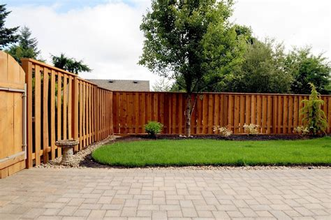 Backyard Wood Fence Ideas by Wood Fence Designs To Suit Your House Interior
