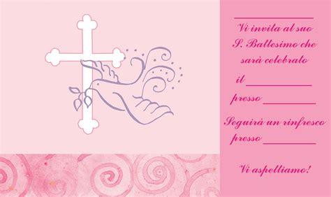 Testo Con Una Rosa by Biglietti E Inviti Battesimo Originali Gratis Da Stare
