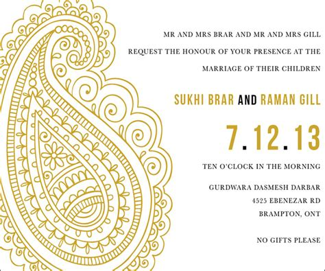 indian wedding invitation templates 10 awesome indian wedding invitation templates you will