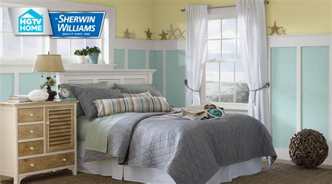 coastal cool paint color collection hgtv home by sherwin williams