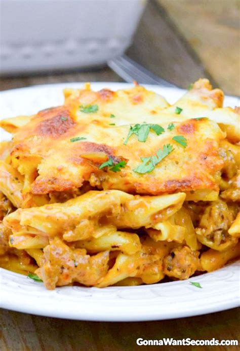 baked mostaccioli with sauce 25 b 228 sta baked mostaccioli id 233 erna p 229 pinterest