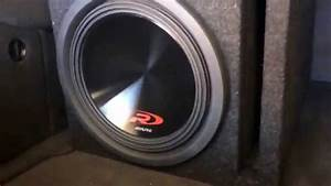 Alpine Type R 12 U0026quot  Sub In Ported Box Install