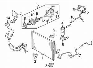 Pontiac Montana A  C Refrigerant Hose  Rear  Air  Heater