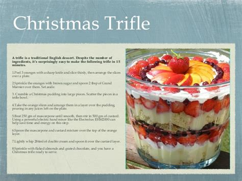 traditional christmas desserts 3 easy christmas desserts