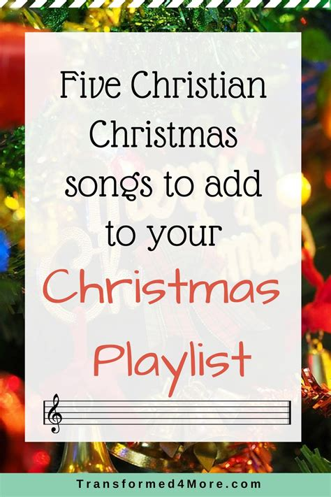 Five Christian Christmas Songs For Your Playlist