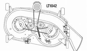 Cub Cadet Model 1525 Belt Diagram