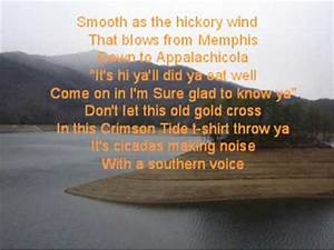 Southern Voice with lyrics- Tim McGraw - YouTube
