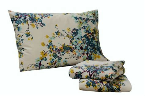tribeca living casablanca floral printed pocket sheet