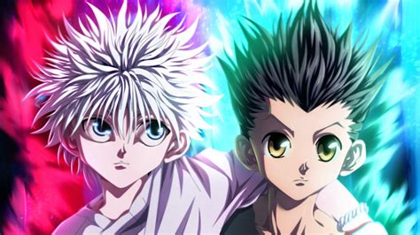 hunter  hunter colorful gon  killua photo hd anime