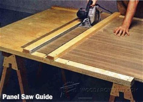 diy circular  edge guide woodarchivist