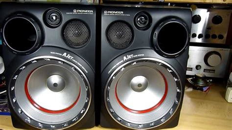 pioneer  pv edgeless woofer bass system ajet youtube